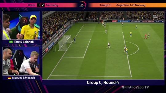 FIFA eNations Cup: Brasil avança às quartas de final com direito a provocação sobre Alemanha
