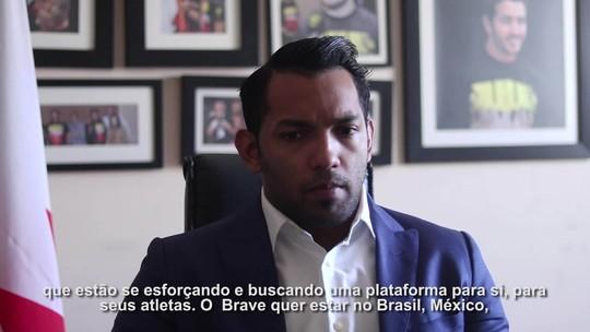 Antes do Brave 8, presidente fala de novos eventos no Rio e em São Paulo