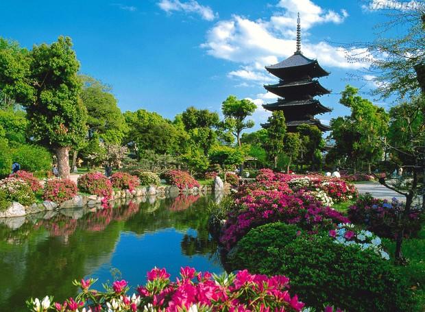 Quioto - Japão (Foto: Reprodução/ Walldesk)