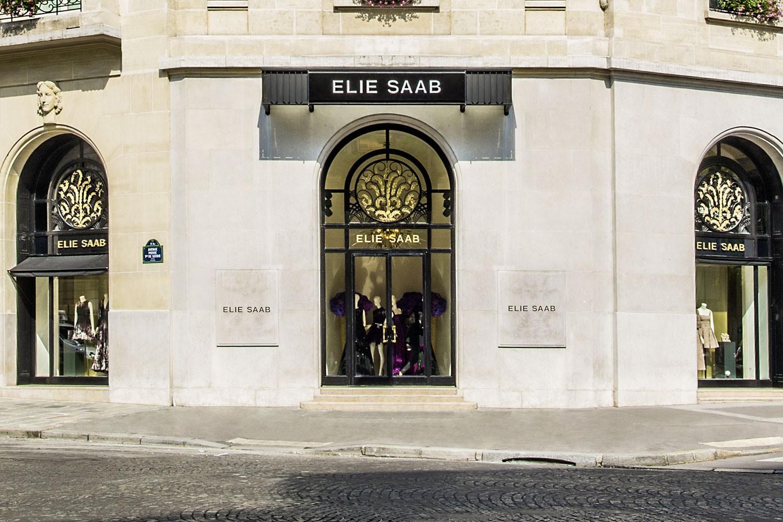 Fachada da nova loja de Elie Saab (Foto: Divulgação)