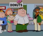 'Family guy' e 'Simpsons' se encontram em episódio | Reprodução da internet