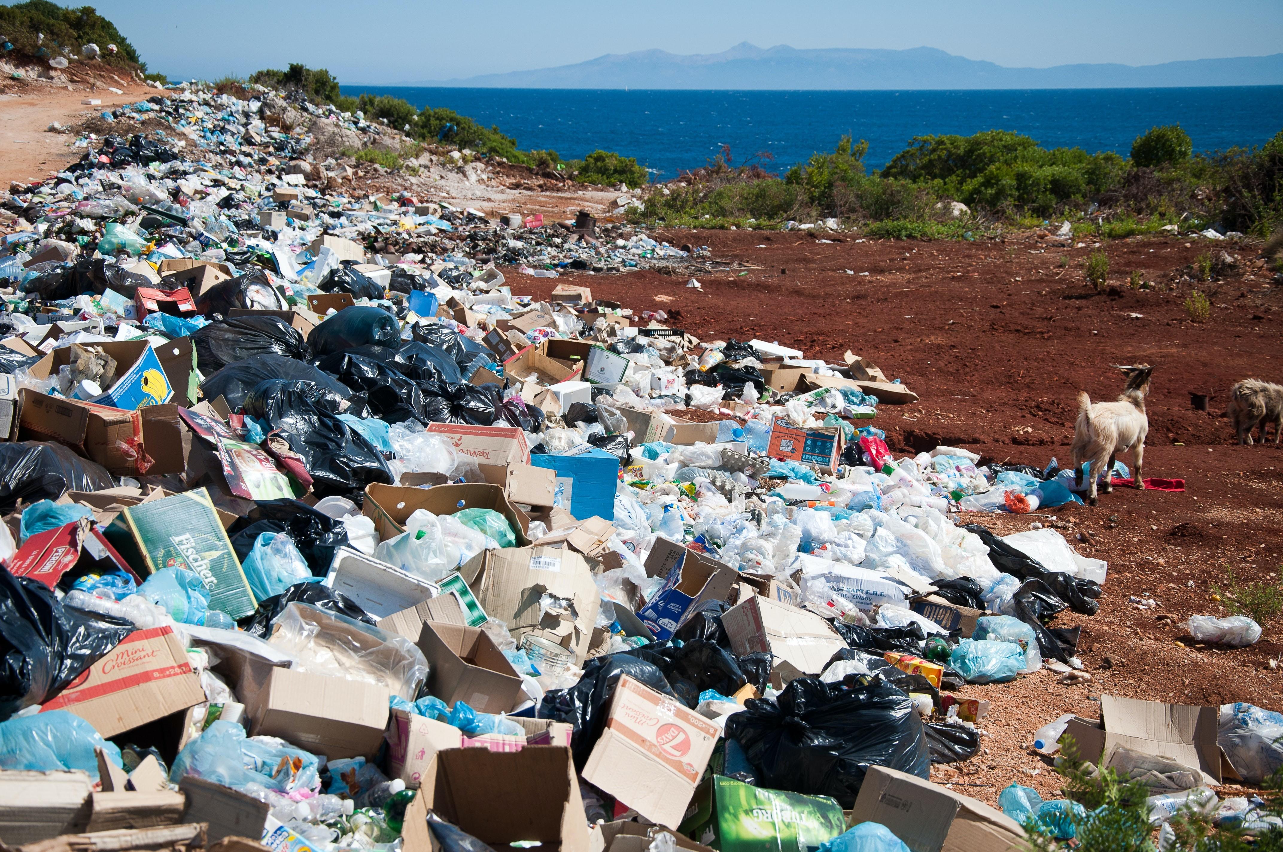 O Brasil é hoje o quarto maior produtor de lixo plástico, segundo um estudo da World Wildlife Fund (WWF): são 11,3 toneladas por ano, das quais somente 1,28% são recicladas.  (Foto: Antoine GIRET/Unsplash)