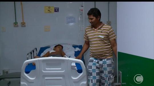 'Nasceu de novo', diz pai do garoto que teve galho alojado no peito no PI