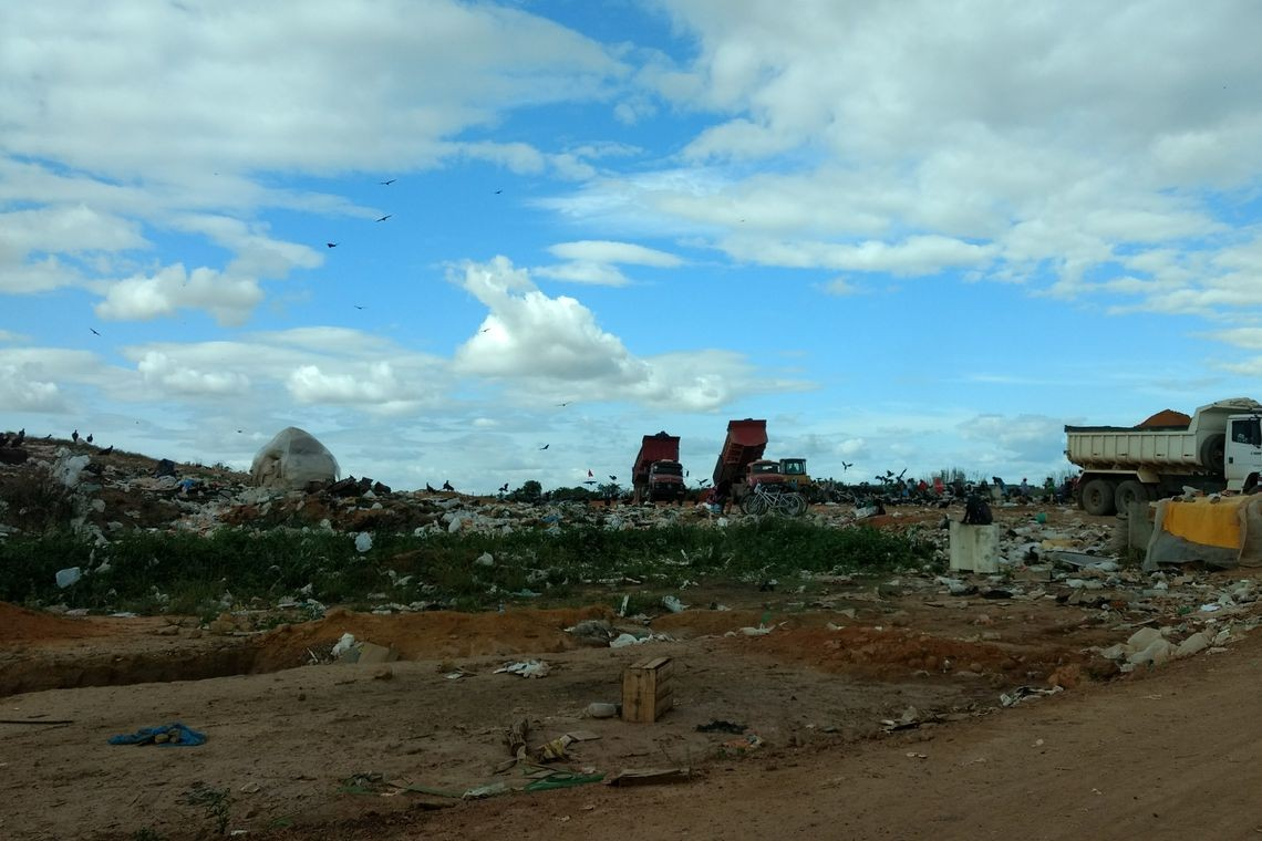 Lixão, lixo, resíduos (Foto: Maira Heinen/Agência Brasil)