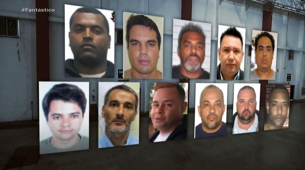 Dos 22 criminosos mais procurados, 11 receberam auxílio emergencial, segundo levantamento do Fantástico — Foto: Reprodução/EPTV