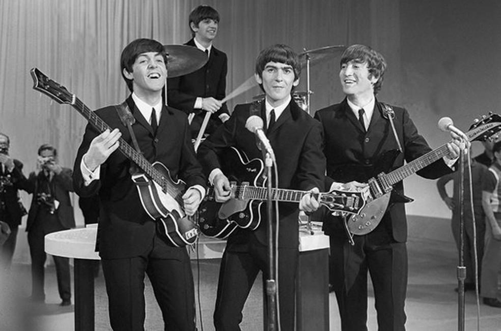 A banda Beatles (Foto: Divulgação)