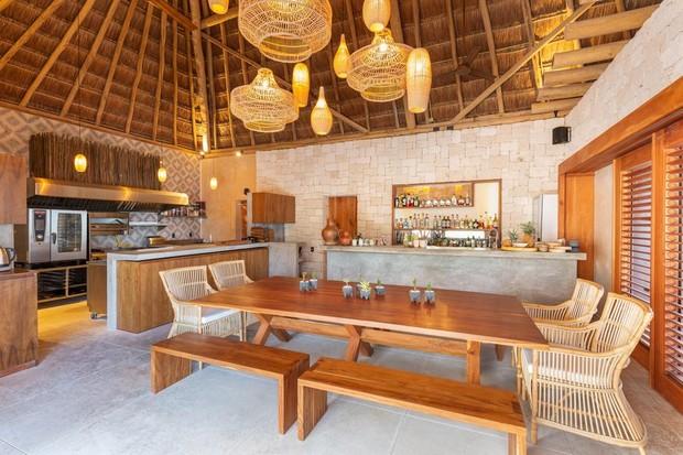 Hotel em Tulum em que Luísa Sonza está hospedada (Foto: Reprodução/Divulgação)