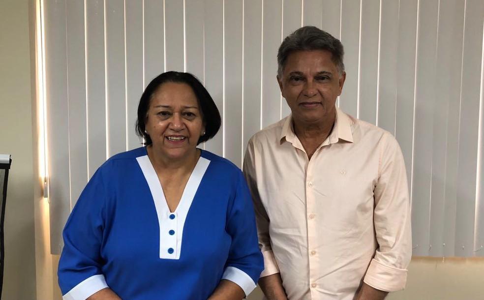 Fátima Bezerra anuncia João Maria Cavalcanti como secretário de Recurso Hídricos do RN — Foto: Divulgação
