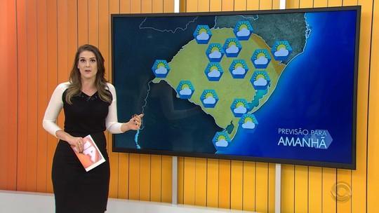 Tempo instável prevalece no sábado em todo o Rio Grande do Sul