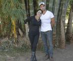 Christiane Torloni e Leonardo Carvalho | Arquivo pessoal