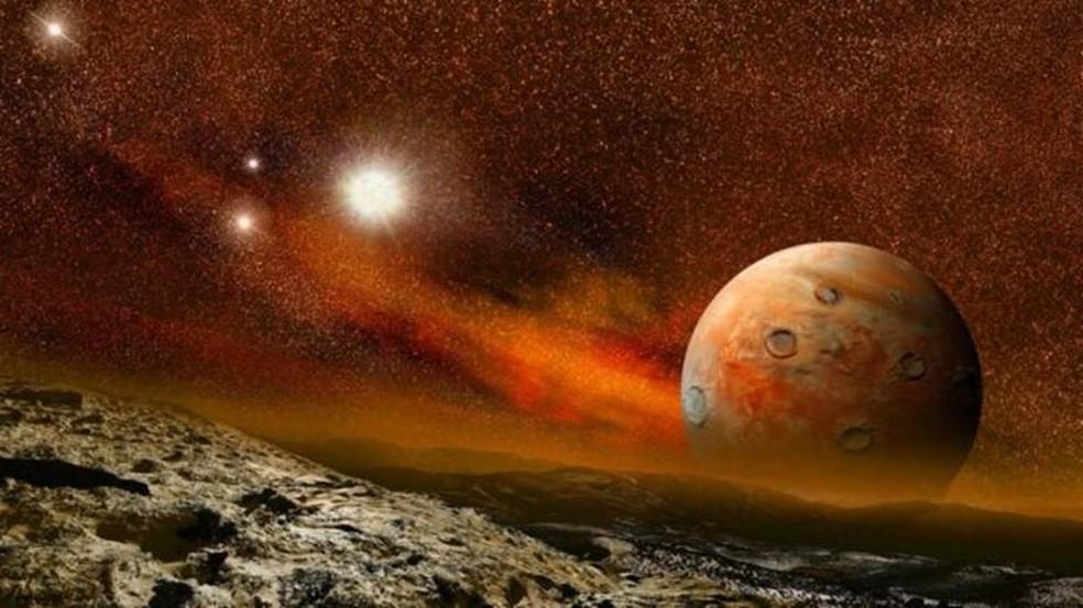 Existem planetas semelhantes em tamanho e massa à Terra que orbitam estrelas menores de 'anã vermelha' — Foto: Getty Images