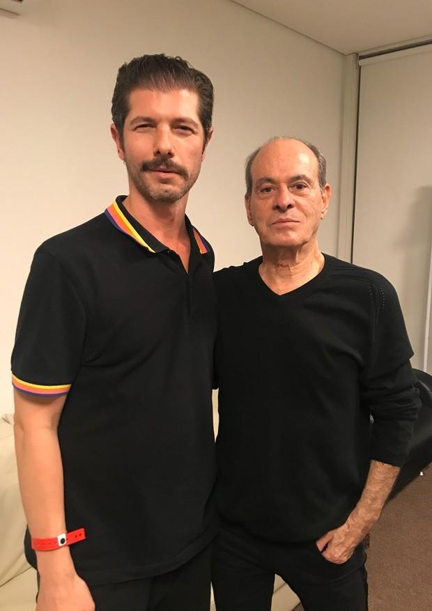 Nô Mello e Ney Matogrosso (Foto: Divulgação)
