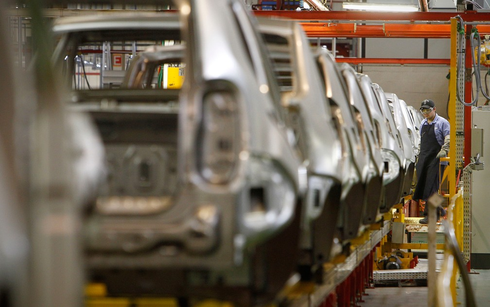 Fábrica da Renault, no Paraná, contratou 1,3 mil trabalhadores neste ano. (Foto: Divulgação)