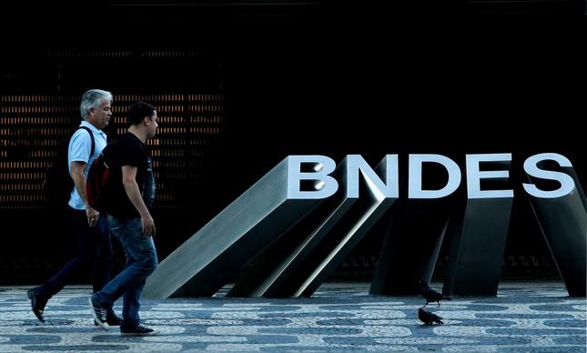 Prédio do BNDES, no Centro do Rio