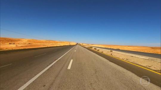 Estrada do rei, na Jordânia, é um dos caminhos mais antigos do mundo