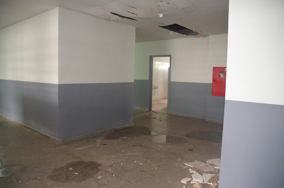 -  Escola Municipal José de Almeida e Silva em Cacoal, RO  Foto: Magda Oliveira/G1