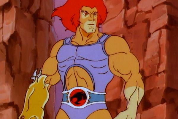 O herói Lion-O em cena da versão clássica do desenho Thundercats (Foto: Reprodução)