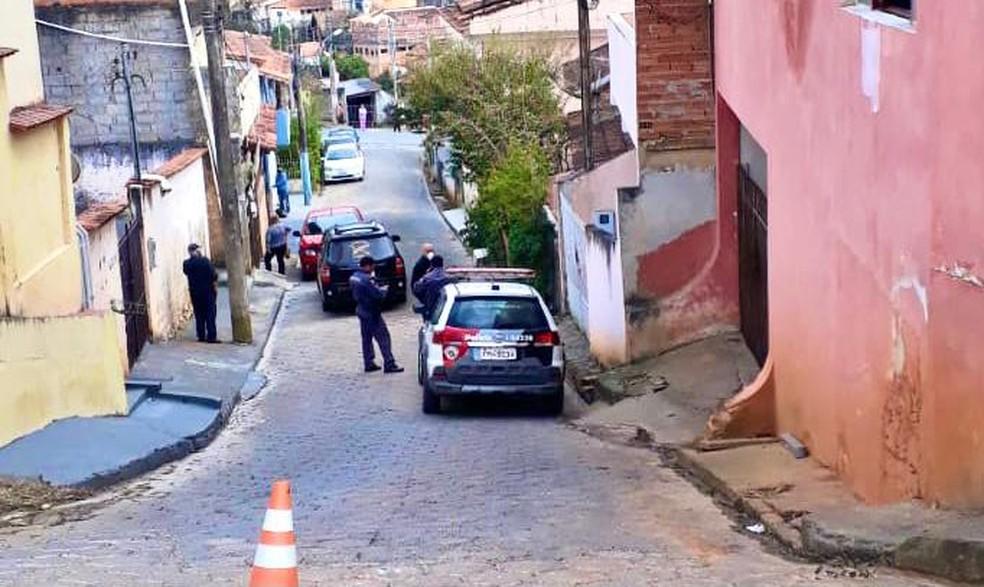 Corpo de homem é encontrado dentro de porta-malas em Guapiara (SP) — Foto: Arquivo Pessoal