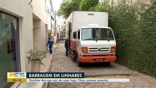 Famílias no ES são obrigadas a abandonar casas por causa de barragem feita pela Samarco