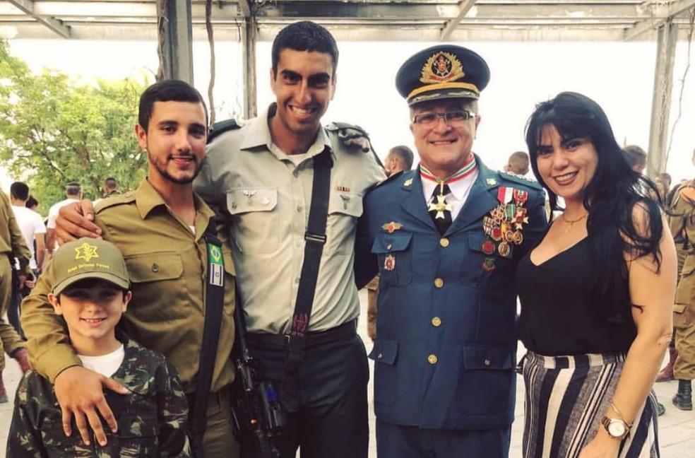 Paraense que é combatente pretende continuar entre seus dois lares: Belém e Israel. — Foto: Arquivo Pessoal