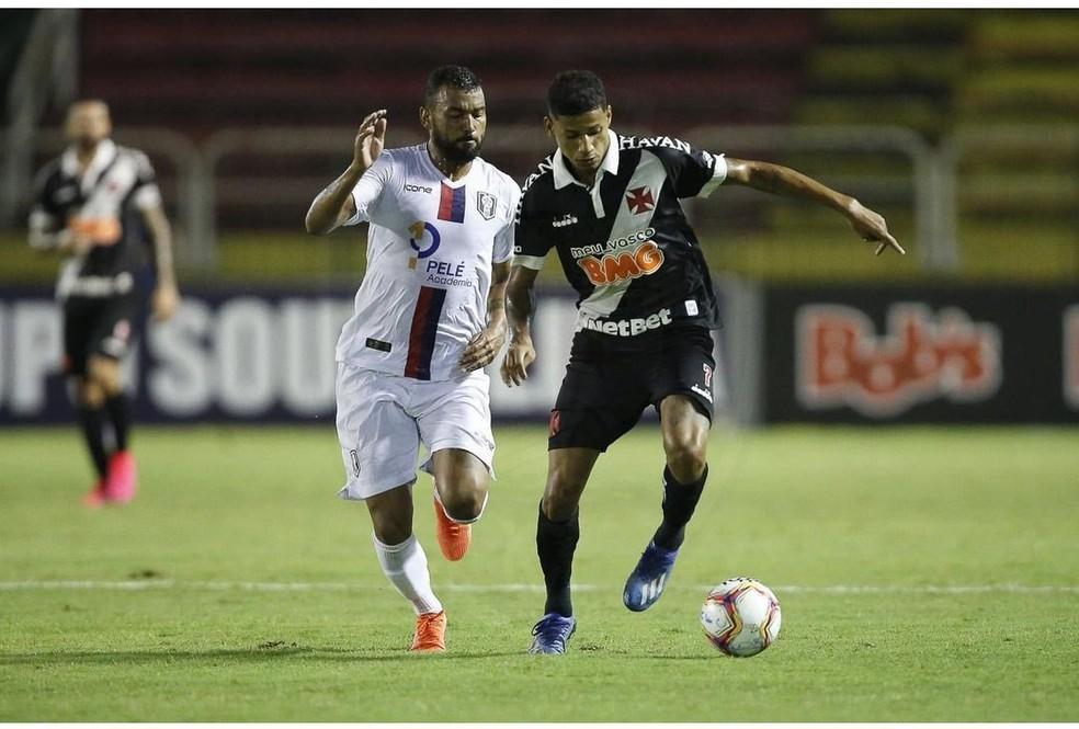 Setor ofensivo tem sido pouco produtivo. São Apenas sete gols em 10 jogos no ano — Foto: Rafael Ribeiro/Vasco da Gama