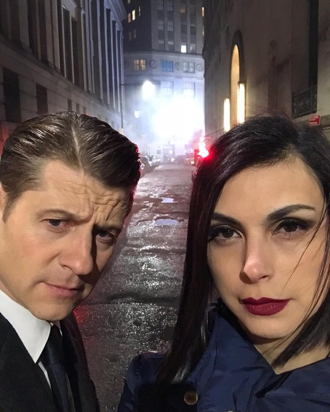 Morena Bacarin e o companheiro de cena e da vida real Ben McKenzie (Foto: Reprodução instagram)