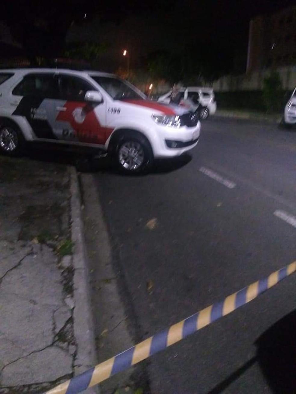 Assaltantes foram mortos em troca de tiros com a PM após assaltos em São José dos Campos — Foto: Reprodução/Ocorrência 24h Portinari