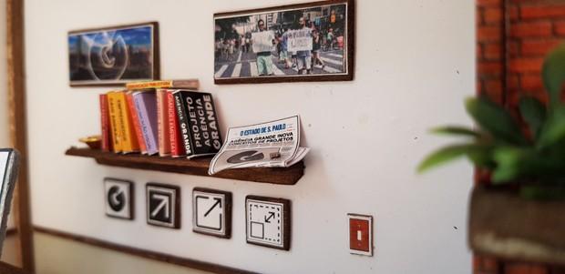 O menor escritório do mundo fica em São Paulo (Foto: Divulgação)