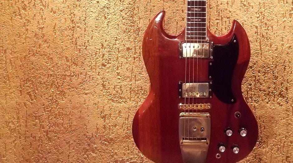 Guitarra produzida pela Giannini, marca nacional de guitarras (Foto: Divulgação)