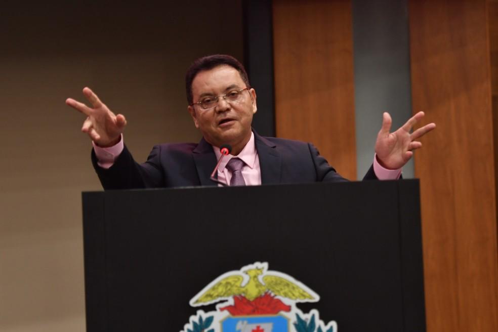 Eduardo Botelho está no cargo desde 2017 — Foto: ALMT