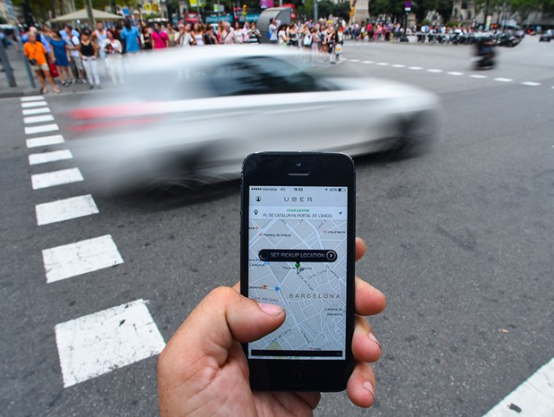 Aplicativo Uber (Foto: Getty Images)