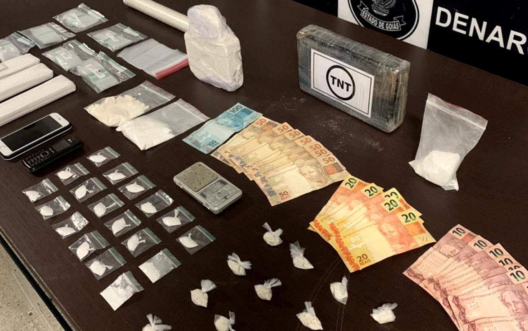 Estudante de medicina é preso suspeito de traficar cocaína, em Goiânia