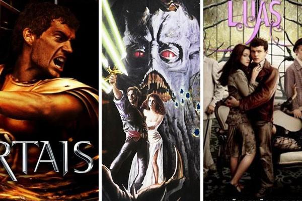 Imortais, Krull e Dezesseis Luas são exemplos de filmes que tentaram surfar a onda de outros sucessos da indústria (Foto: Reprodução)
