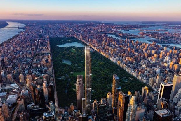 Nova York terá o edifício residencial mais alto do mundo (Foto: Reprodução)