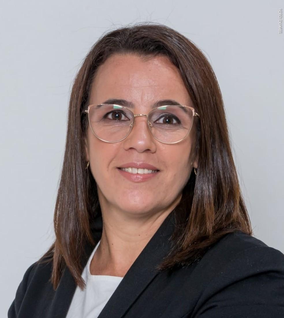 Dayse Onofre é a candidata mais votada em Paraíba do Sul — Foto: Divulgação