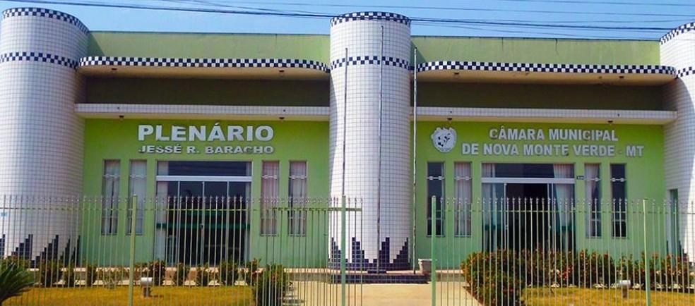 Julgamento foi realizado na Câmara de Nova Monte Verde (Foto:  Câmara de Nova Monte Verde/Divulgação)