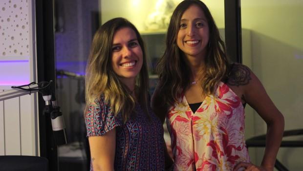 Roberta Cardoso e Renata Mendonça, do Dibradoras, grupo de apoio às mulheres no esporte  (Foto: Divulgação/Iago Batista/Seppia Conteúdo)