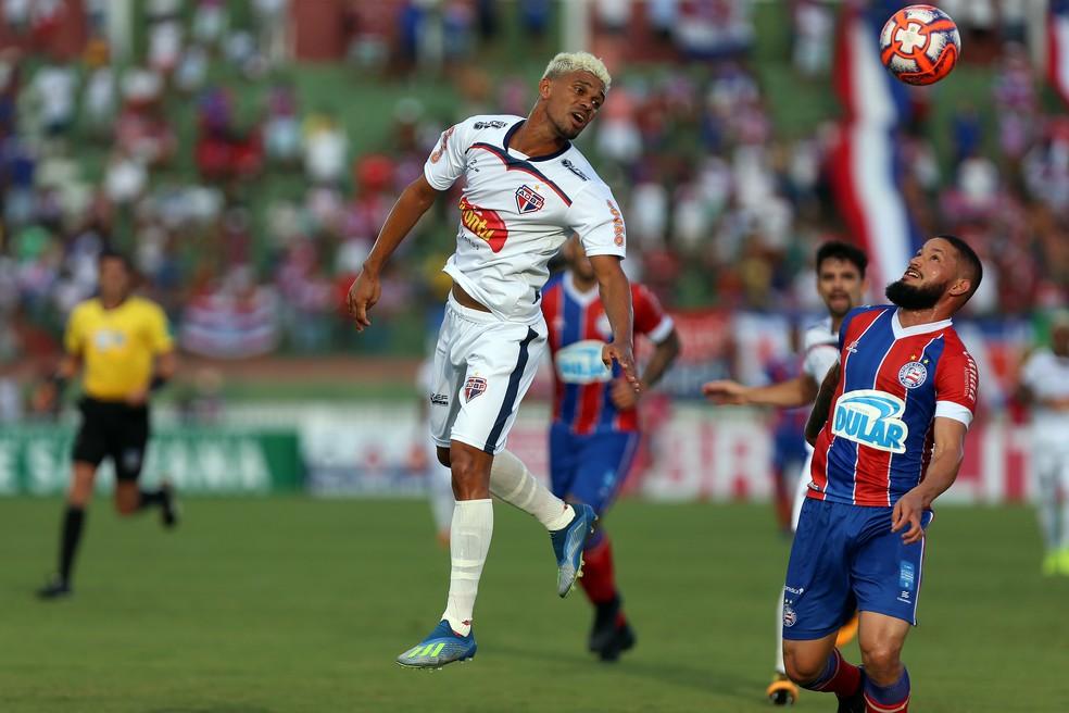 Edvan foi eleito o melhor lateral-direito do Campeonato Baiano — Foto: Felipe Oliveira / EC Bahia / Divulgação