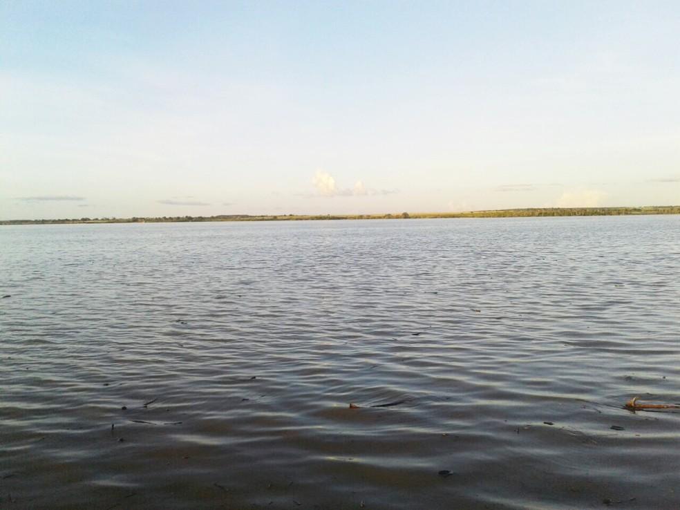 Barragem do Apanha Peixe tem capacidade para 10 milhões de metros cúbicos de água — Foto: Samira Isly Leite de Morais