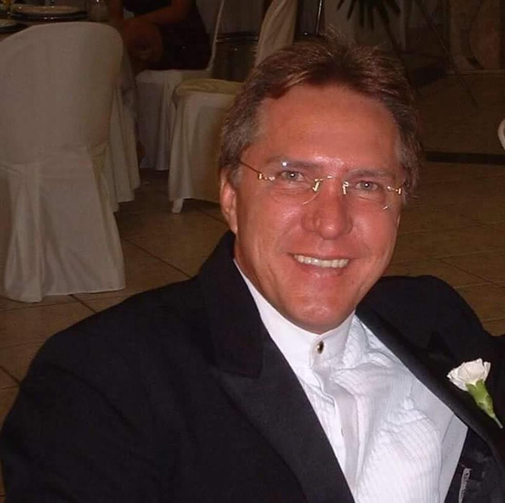 Marcos Antônio Braga Ponte tinha 60 anos e trabalhava na Companhia da Águas e Esgotos do RN — Foto: Redes Sociais