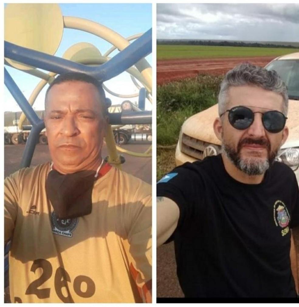 De acordo com a Sema, Luiz Carlos Rodrigues Campos e Pedro Ferreira dos Santos atuavam na unidade de Confresa — Foto: Sema/MT