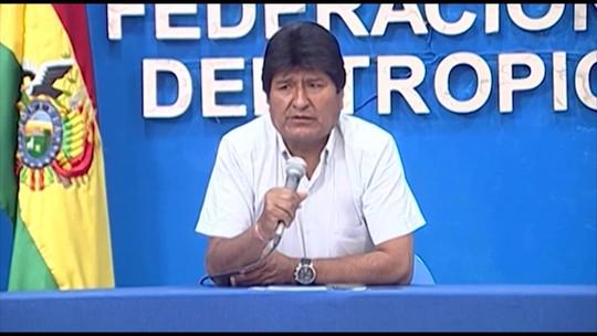 Presidente Evo Morales lidera disputa eleitoral na Bolívia, diz pesquisa