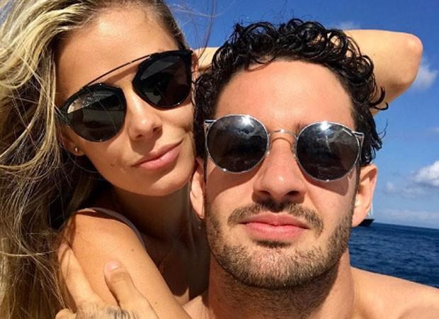 Alexandre Pato e a namorada, Danielle Knudson (Foto: Reprodução Instagram)