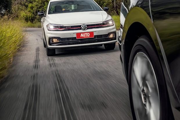 Comparativo: VW Jetta e VW Virtus GTS (Foto: Leo Sposito)