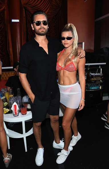 LAS VEGAS, NEVADA - AUGUST 24: Scott Disick and Sofia Richie celebrate Sofia Richie's 21st birthday at Encore Beach Club At Wynn Las Vegas on August 24, 2019 in Las Vegas, Nevada. (Photo by Denise Truscello/Getty Images for Wynn Nightlife) (Foto: Getty Images for Wynn Nightlife)