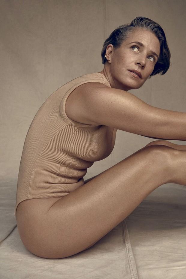 Greta Cuneo em editorial da Vogue Brasil de 2019 (Foto: Getty Images, Imax Tree e Divulgação)
