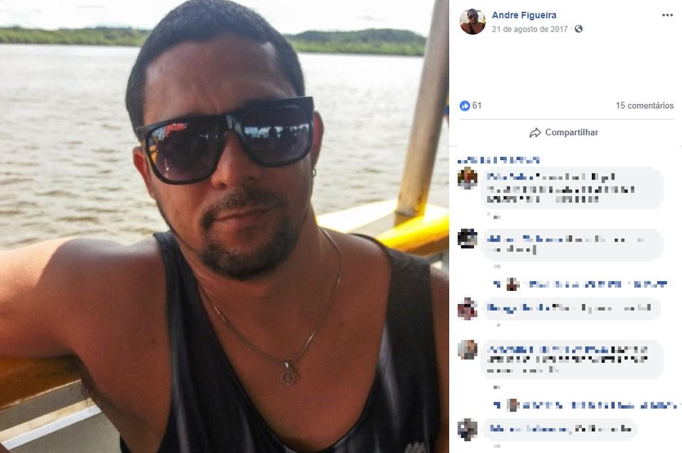 De acordo com o delegado Alberto Melo, com base nas testemunhas, o celular da vítima foi roubado durante o crime. — Foto: Reprodução / Redes Sociais
