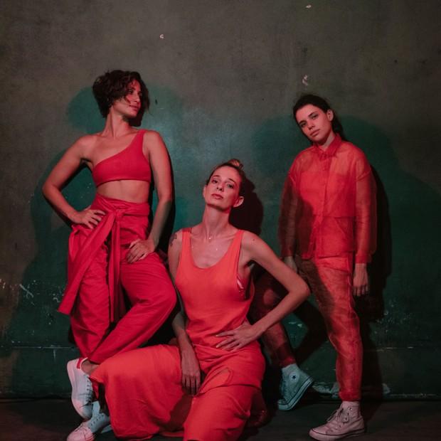 Camila Pitanga, Letrux e Bruna Linzmeyer (Foto: Flora Negri)
