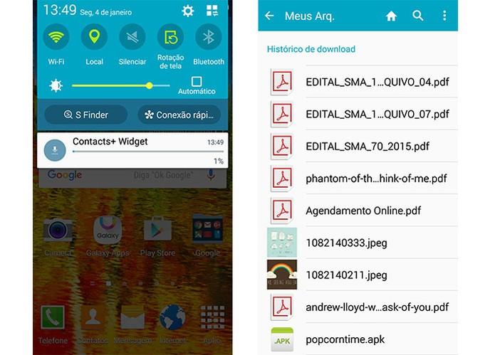 Evite baixar arquivos, vídeos ou músicas pelo 3G ou 4G (Foto: Reprodução/Barbara Mannara)