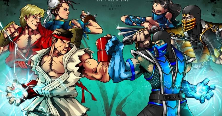 Street Fighter X Mortal Kombat Veja Todos Os Jogos Que